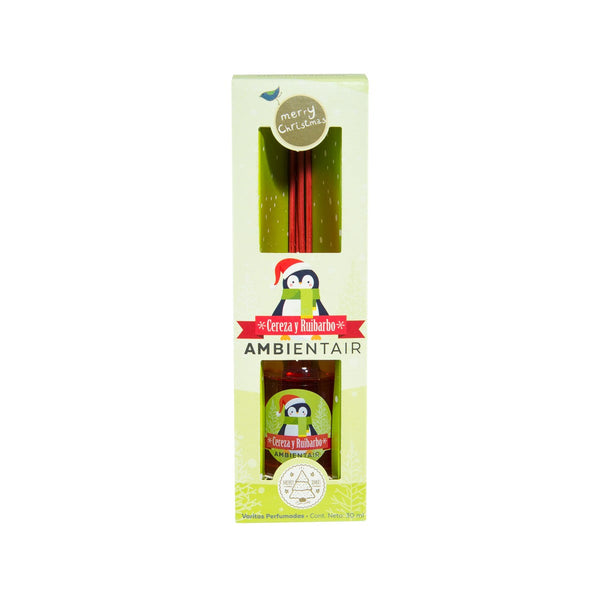 AMBIENTE AIR Diffuser 30mL Cherry And Rhubarb (Penguin)  (30mL)