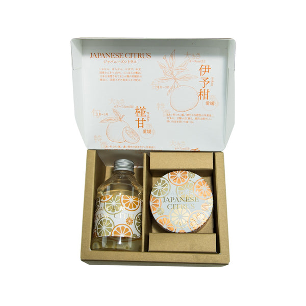 STEAMCREAM Japanese Citrus Special Kit  (75g+200ml)
