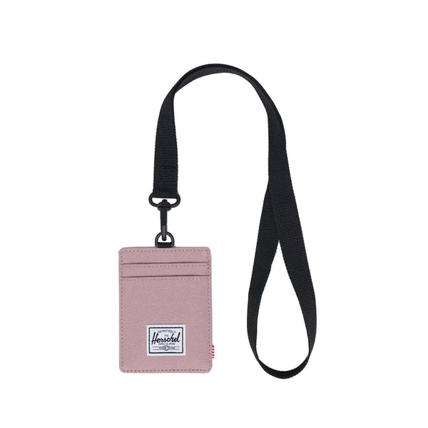 HERSCHEL Charlie LY Card Case-Ash Rose