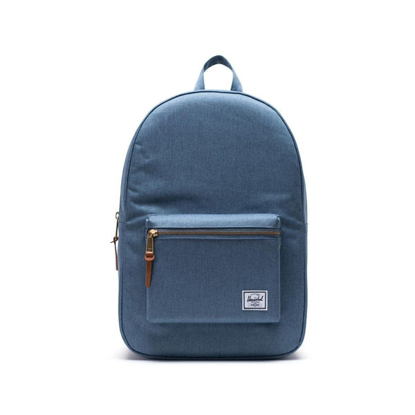 HERSCHEL Settlement Backpack-Blue Mirage Crosshatch