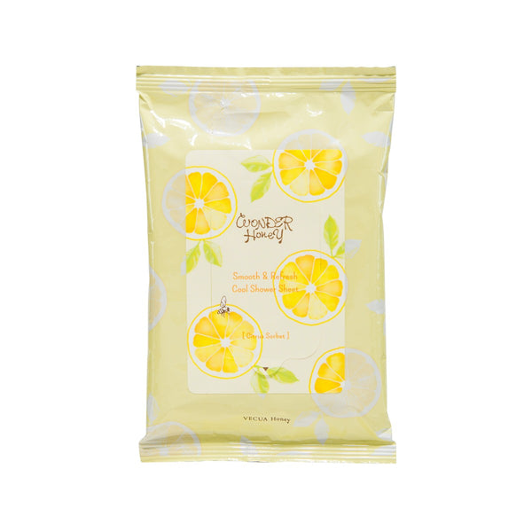 WONDER HONEY SHOWER SHEET-CITRUS SORBET