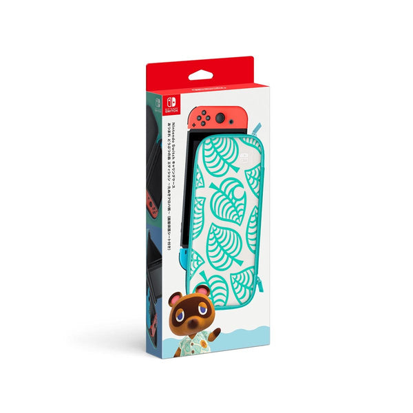 Nintendo Switch Animal Crossing™: New Horizons Aloha Edition Carrying Case & Screen Protector