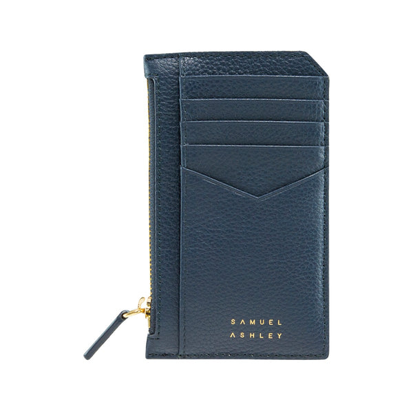 Samuel Ashley X LOG-ON crossbody edition Nicky cardcase-Navy/Light Blue