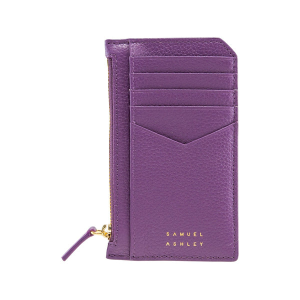 Samuel Ashley X LOG-ON crossbody edition Nicky cardcase-Violet/Beige