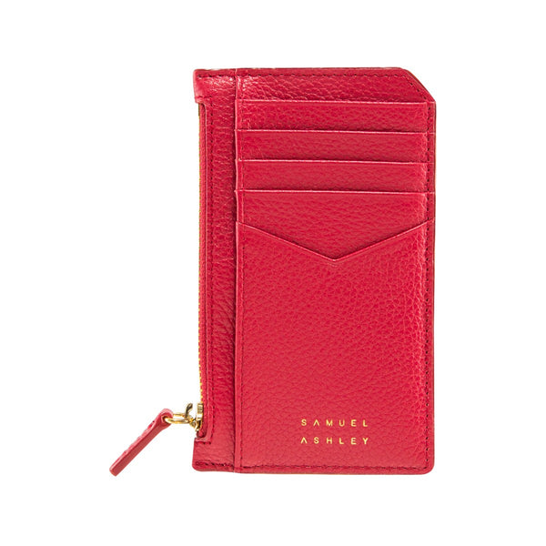 Samuel Ashley X LOG-ON crossbody edition Nicky cardcase-Red
