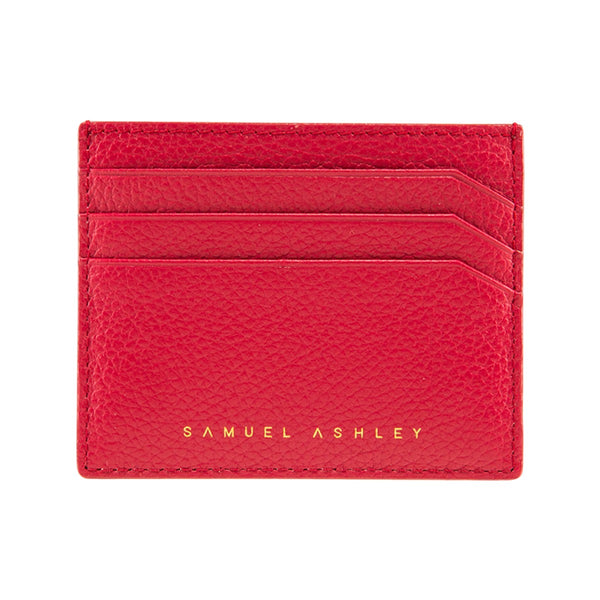 Samuel Ashley X LOG-ON crossbody edition Jillian cardcase-Red
