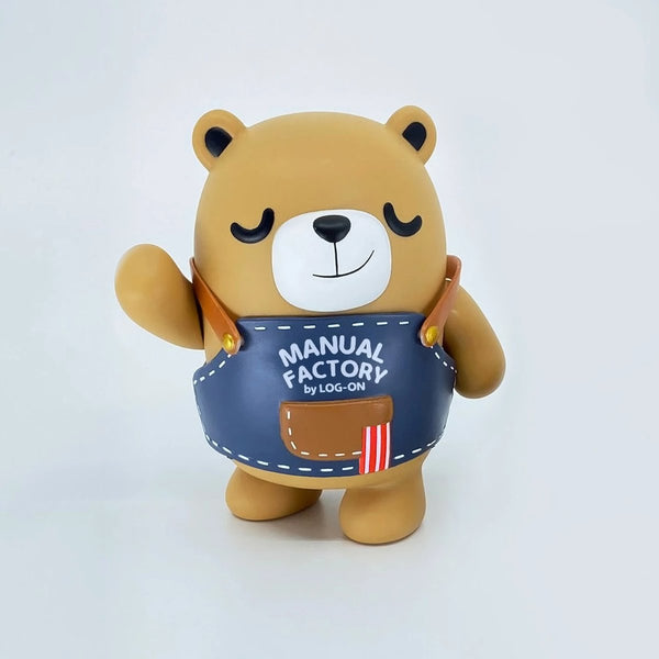 "4"" Manual Factory Bear Vinyl Figure (Standard)"