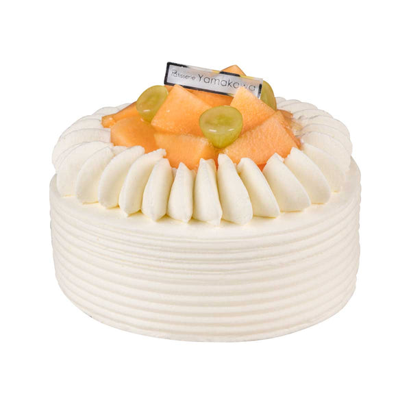 Patisserie Yamakawa Rock Melon Cream Cake 15cm