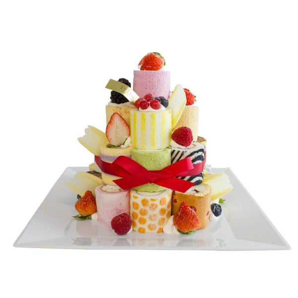 Irina 4-layer Mini Roll Tower 25pcs (Pickup at Times Square & Harbour City only)