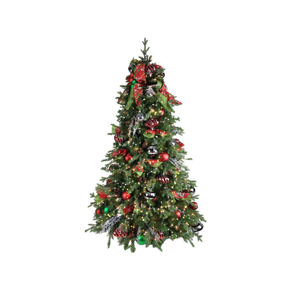 Magic of Christmas 6 ft Tree with lights & ornaments