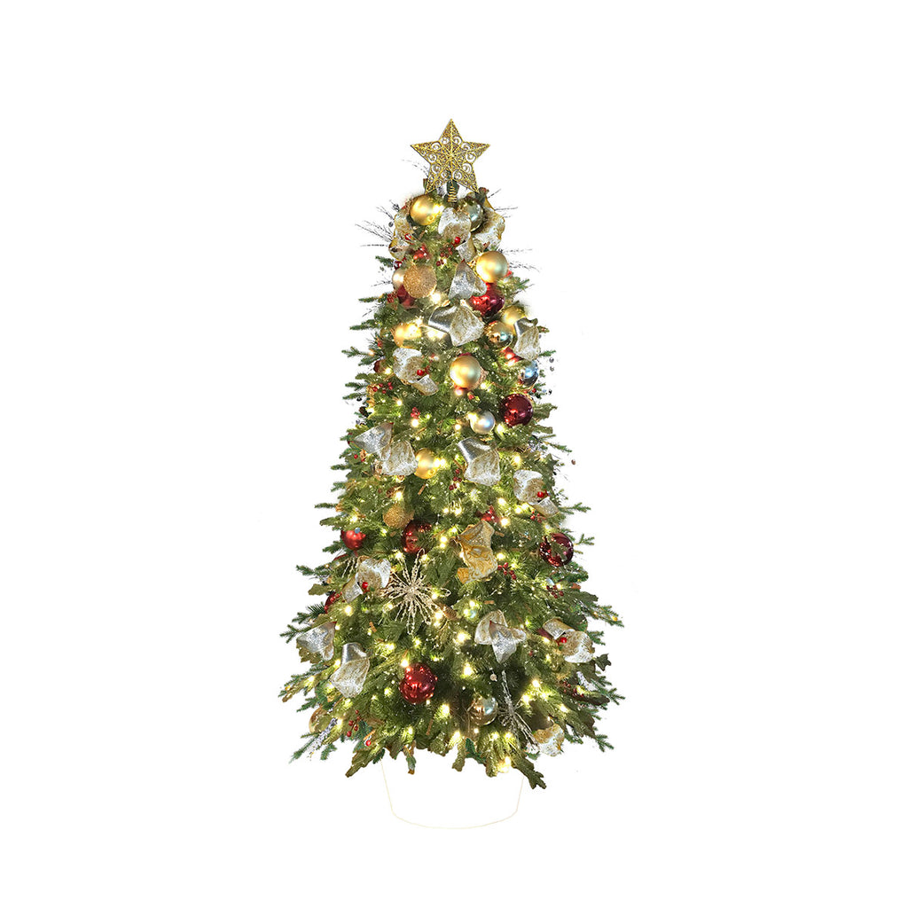 Starlight 6 ft Tree with lights & ornaments