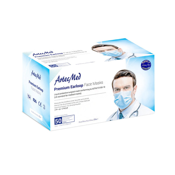 ARTECMED Face Mask Astm 1 (Adult) -50pcs