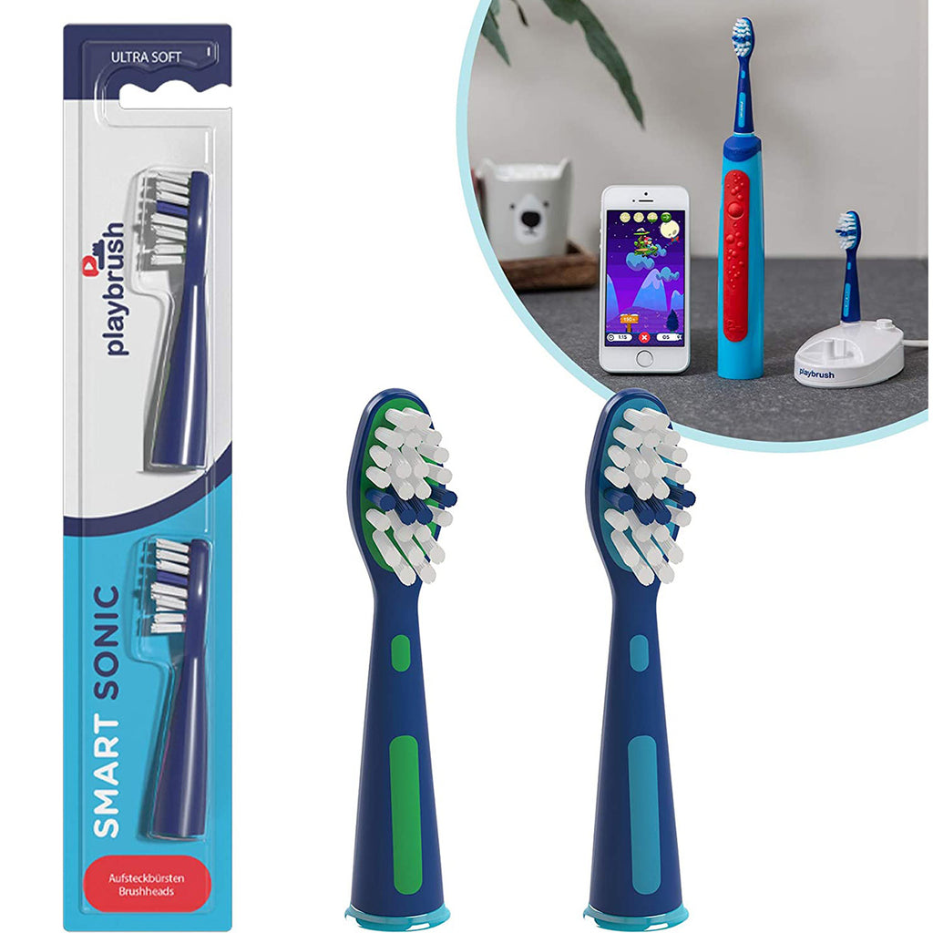 PLAYBRUSH SMART SONIC REPLACEMENT BRUSH HEAD