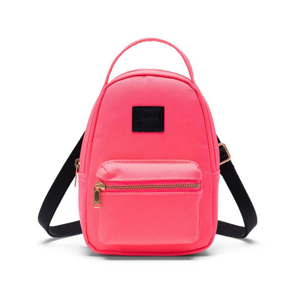 Herschel Nova Crossbody Bag-Neon Pink/Black