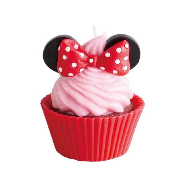KAMEYAMA CUPCAKE CANDLE MINNIE