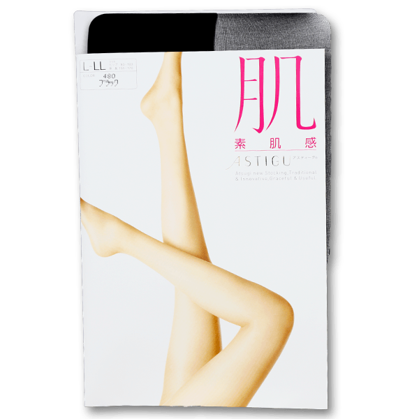 ASTIGU【肌】Stockings –BK