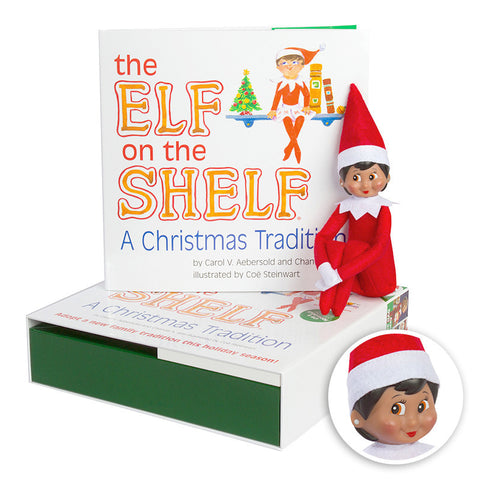 The Elf on the Shelf: A Christmas Tradition (includes girl Scout Elf w/ brown eyes)