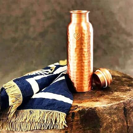 sustainable pure copper waterbottles online yogibeings