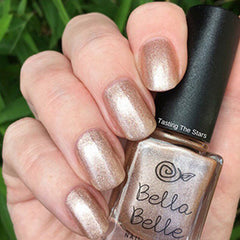 sparkly gifts for her champagne eco nail paint