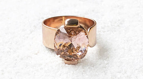 unique ethical jewellery online australia vintage glam statement ring bidiliia