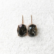 sparkly crystal drop earrings ethical jewellery