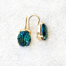 beautiful crystal drop hook earrings australia gold and turquoise