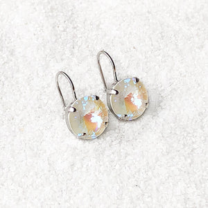 Moonlight Crystal Drop Earrings