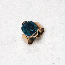 affordable elegant rose gold and turquoise statement ring online