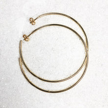 Orbit hoop earrings
