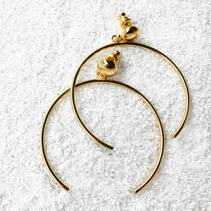 gold hoop ethical earrings australia
