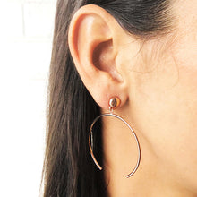 Twist-n-shout Hoop Earrings
