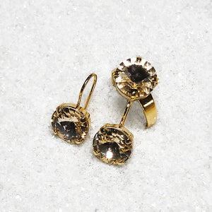 elegant gold swarovski crystal jewellery affordable