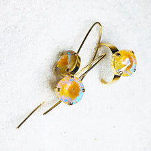 unique gold on gold swarovski crystal jewellery