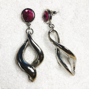 Swivel drop dangle earrings