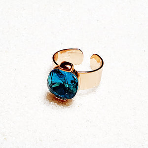 Sea Glam Statement Ring