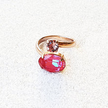 Frida Dual Swarovski Statement Ring