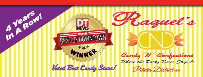 Voted Best Candy Store! 4 Years Straight!