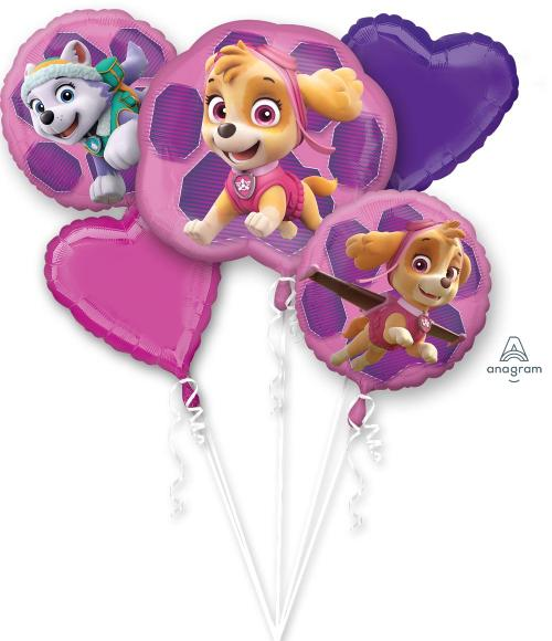 Paw Patrol Girl Balloon Bouquet - Anagram