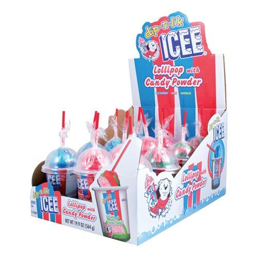 ICEE® Dip-N-Lik® Candy 8/12 - Koko's Confectionery & Novelty