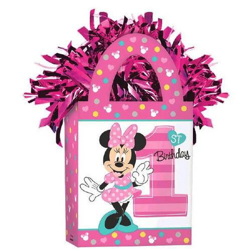 Minnie Fun To Be One Mini Tote Balloon Weight - Amscan