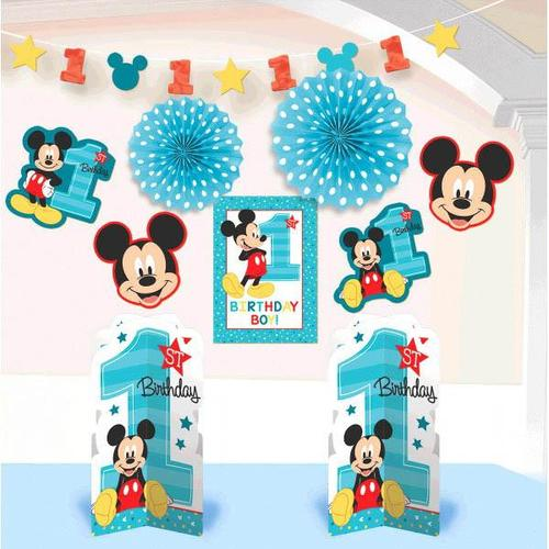 Mickey Fun To be One Room Decorating Kit - Amscan