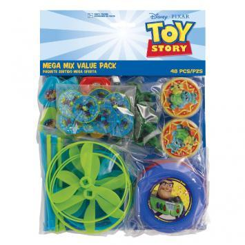 Toy Story 4 Mega Mix Favor Pack - Amscan