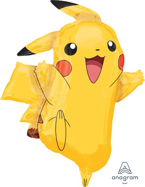 "Supershape Pikachu 31"" Balloon - Amscan"