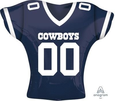 "Supershape Dallas Cowboys Jersey 24"" Balloon - Anagram"