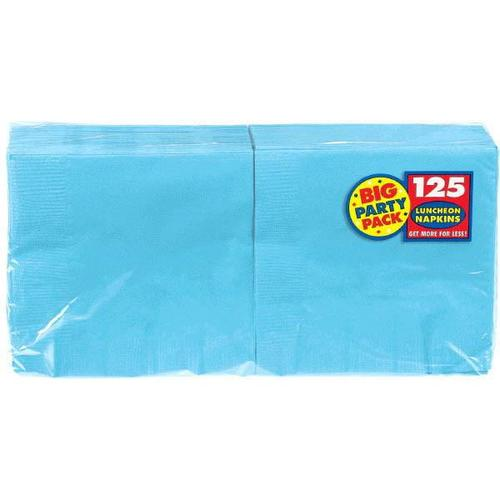 Caribbean Blue Lunch Napkin 125ct - Amscan