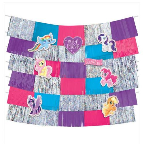 My Little Pony Friendship Adventures Deluxe Backdrop Decorating Kit - Amscan