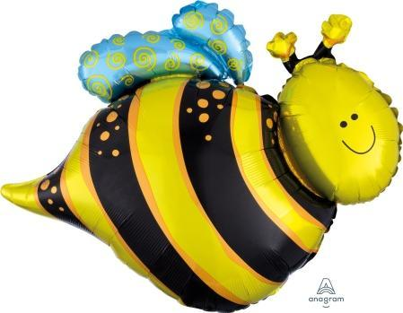 "Supershape Happy Bee 25"" Balloon - Anagram"