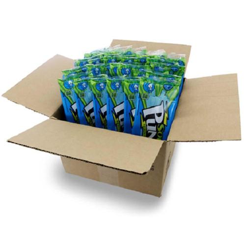 Sour Punch Straws Blue Raspberry 24/4.5oz - American Licorice Company