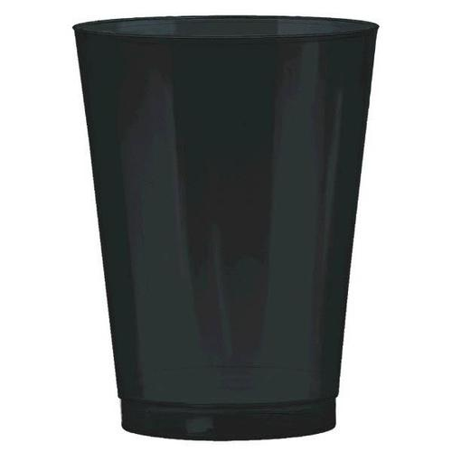 Jet Black 10oz Tumbler 72ct - Amscan