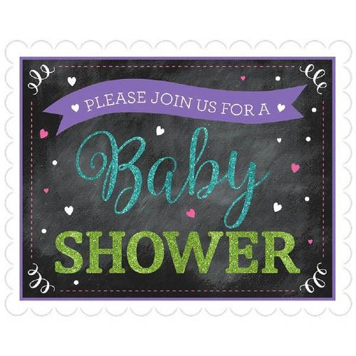 Baby Shower Novelty Large Invite Neutral